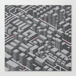 Brutalist Utopia Canvas Print