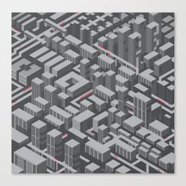 Brutalist Utopia Canvas Print