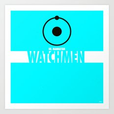 Watchmen 2.0 - Dr. Manhattan Art Print