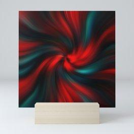 Abstract Fractal Background 3 Mini Art Print
