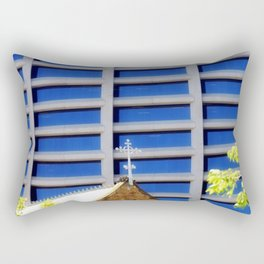 Blessing the Skyscrapers Rectangular Pillow