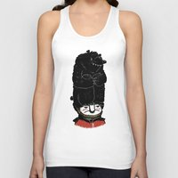 bears Tank Tops featuring Bears by Ronan Lynam