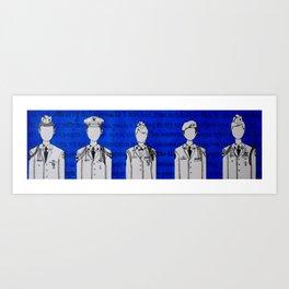 Individuality Art Print