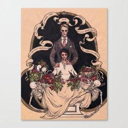 Accipite et Manducate Canvas Print