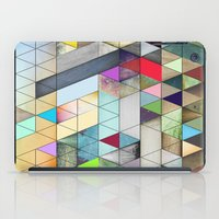 triangles iPad Cases featuring Triangles  by Jason Michael