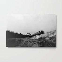 untitled (ostkreuz zig-zag) Metal Print