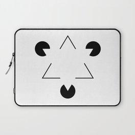Kanizsa triangle Laptop Sleeve