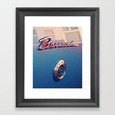 Barracuda Americana Framed Art Print
