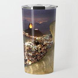 Christ the Redeemer ✝ Statue  Travel Mug