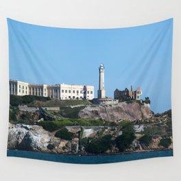 Alcatraz Island Ruins Wall Tapestry