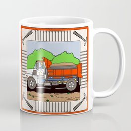Dump Truck Block Coffee Mug