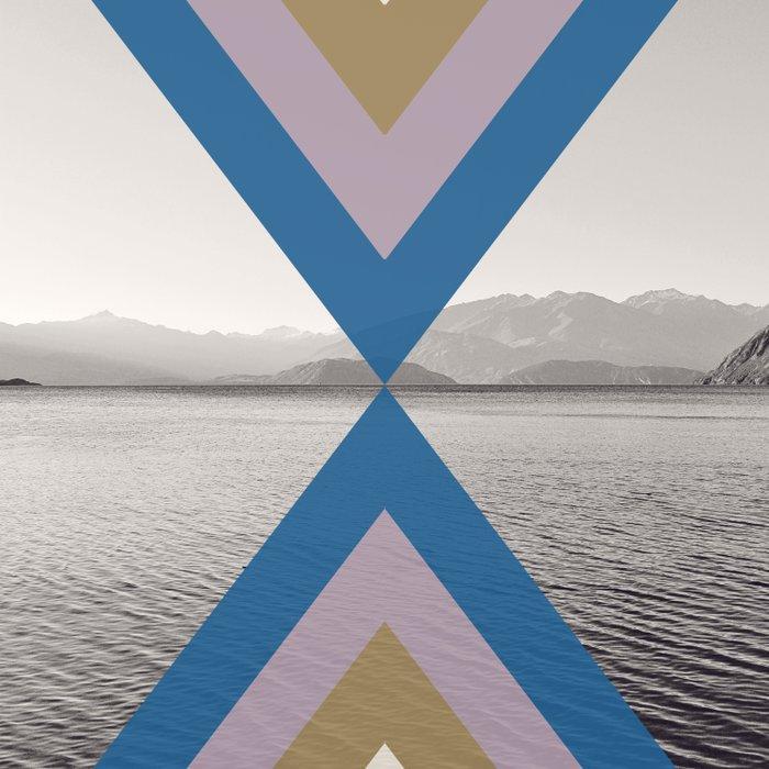 Boho Arrows of Lake Wanaka Comforters