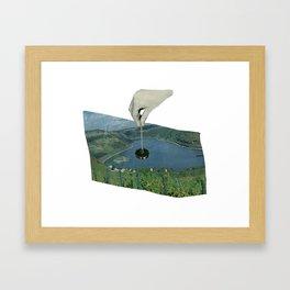 Put A Plug In It. Framed Art Print