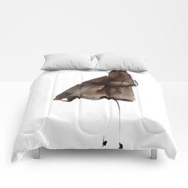 Brown coat Comforters