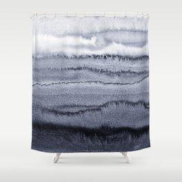 WITHIN THE TIDES - VELVET GREY Shower Curtain
