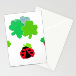 Lucky Ladybugs Stationery Cards