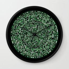 genome mosaic 10-1 Wall Clock