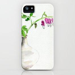 Hearts Bleeding iPhone Case