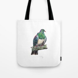 New Zealand Wood Pigeon Tote Bag