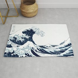 The Great Wave - Halftone Rug