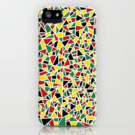 Abstract no.1 | Guyana iPhone Case