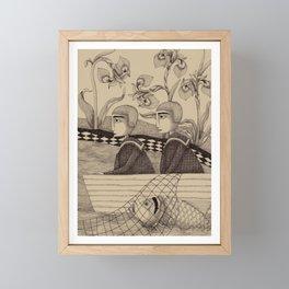The Golden Fish (2) Framed Mini Art Print