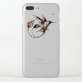 Colibri II Jacob's 1968 fashion Paris Clear iPhone Case