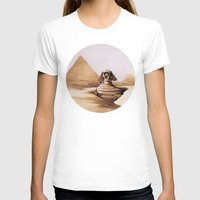 egypt T-shirts featuring Dark egypt by Tony Vazquez