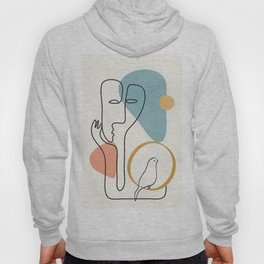 Abstract Faces 32 Hoody