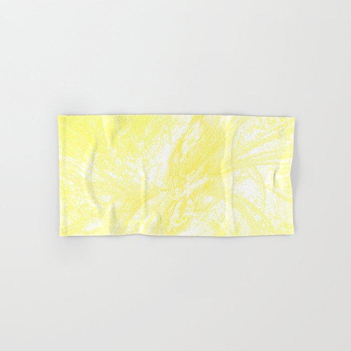 Splatter in Lemonade Hand & Bath Towel
