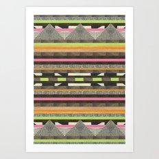 DG Aztec No. 2 Art Print
