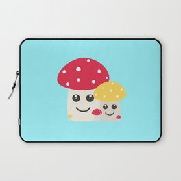 Cute colorful mushrooms Laptop Sleeve