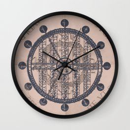 Vintage MontSerrat Ceiling Chandelier  Wall Clock