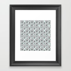 Bowtie Required White Framed Art Print