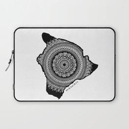 The Big Island of Hawaii [Tribal Illustration] Laptop Sleeve
