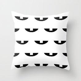 Milk Tooth Throw Pillow