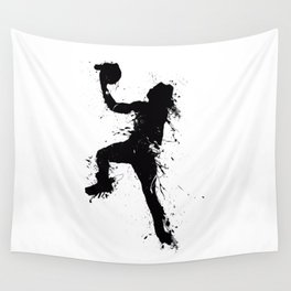 Basketball player inked Wall Tapestry