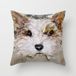 Parti Yorkie Love Throw Pillow