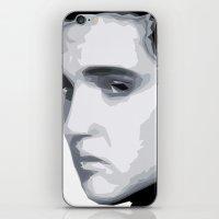 elvis presley iPhone & iPod Skins featuring Elvis Presley by  David Somers