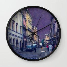Cracow Slawkowska street #cracow #krakow Wall Clock