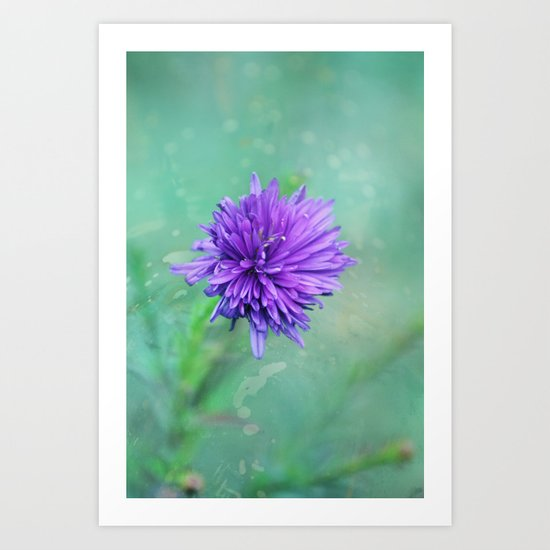 Fantasy Garden - Lilac Beauty Art Print