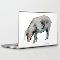 pig Laptop & iPad Skins featuring Pig by Elena Sandovici