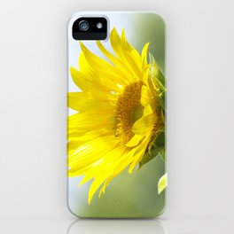 Ladybug and it's Sunflower iPhone Case