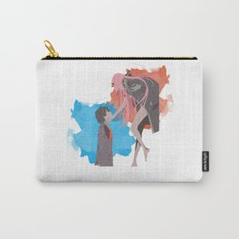 DARLING in the FRANXX Minimalist (Hiro and Zero Two) Carry-All Pouch