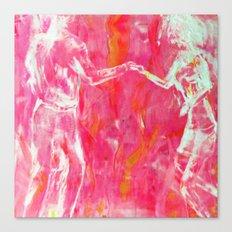 Let's Dance PINK Canvas Print