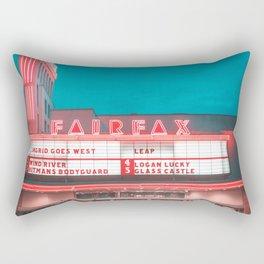 Fairfax red Rectangular Pillow