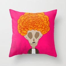 Cemcalacasúchil Throw Pillow