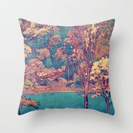 Birth of a Season Throw Pillow