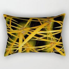 Barrel Cactus - Joshua Tree Rectangular Pillow