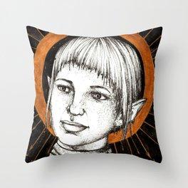 Ladies of Dragon Age: Sera Throw Pillow